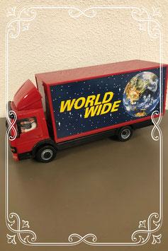 Stoere grote vrachtwagen