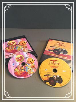 Set van twee DVDs - Rolie Bolie Olie en Brum