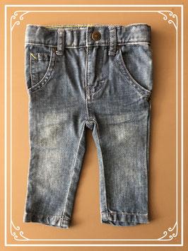 Spijkerbroekje van merk Noppies - maat 62