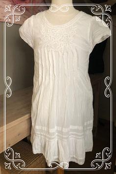 Witte jurk met korte mouw van het Merk - Peace & Love - Maat - 158
