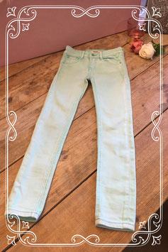 Mint groene skinny jeans van de coolcat-maat 122-128