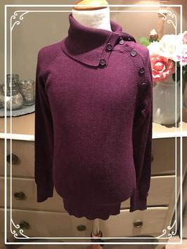 Nieuw: aubergine-kleurig trui van Clockhouse - maat XS