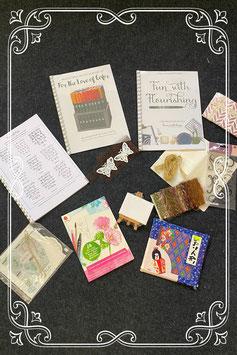 Handlettering - Watercolour painting en knutselen in 1 pakket