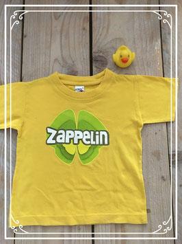 Geel shirt van logo start - maat 104