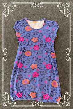Stoer jurkje in het donkerblauw van Hema maat 158/164
