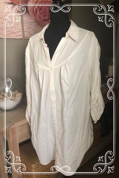Wit lang overhemd van Inspire - Maat XL
