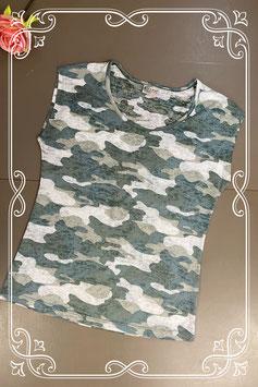 Leuk shirt met legerprint van Casual Clothing maat M