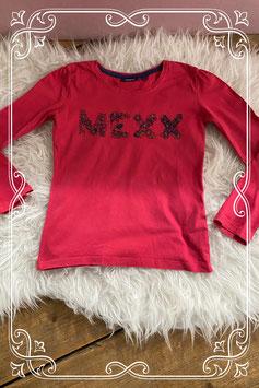 Donkerroze lange mouwen t-shirt van Mexx - Maat 110-116