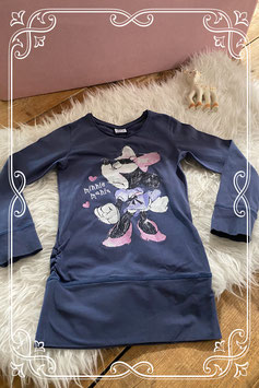 Donkerblauw Minnie Mouse t-shirt van Disney - Maat 122-128