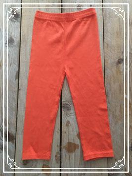 oranje legging - maat 152