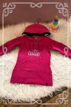 Leuke roze sweater jurk van baby bleu - maat 74