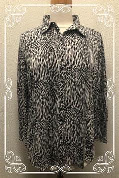 Mooie blouse met print van M. Collection in maat 46