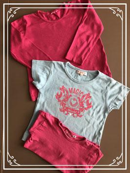 Set van 3 shirts - Maat 104-110