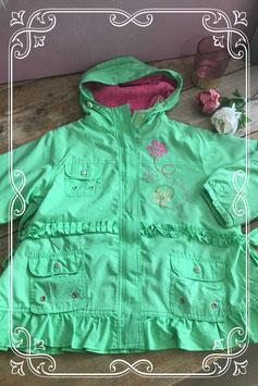 Groene tussenjas van Girls - Maat 116-122