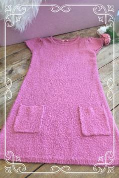 Oudroze jurkje van HEMA - Maat 134-140