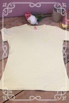Geel korte mouwen shirt van Jill - Maat 140