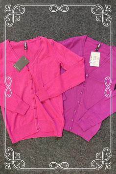 Nieuw! 2 paarskleurige vestjes van Colours of the World maat XS