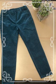 Nieuw! Donkerblauwe rib broek van C&A maat 38