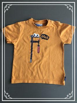 Oranje t-shirt merk Mexx - maat 86