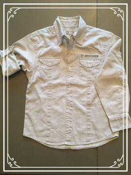 WE gestreept hemd - maat 134-140