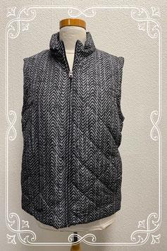 Nieuw! Leuke grijs met zwarte bodywarmer van Croft&Barrow maat XL