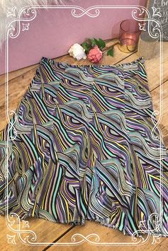 Kleurrijke rok van Hot Item - maat l