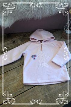 Lichtroze hoodie van Disney - maat 86