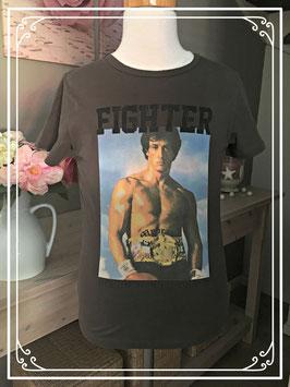 Bruin T-shirt met rocky van My Brand - maat 122-128