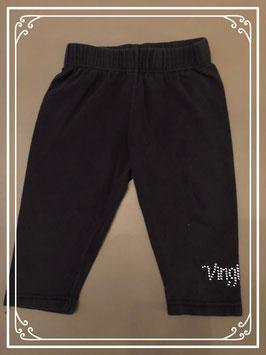 Zwarte 3/4 legging van Vingino - Maat 122