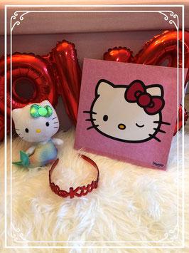 setje van hello kitty schilderij knuffel en haarband