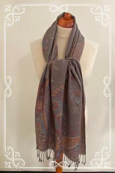 Mooie zachte sjaal in warme kleuren - volwassenen