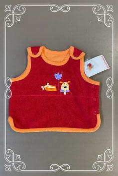 Nieuw! Rood/oranje hemdje van Prenatal maat 62
