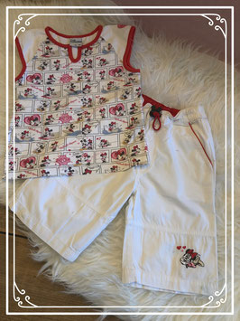 Minnie en Mickey Mouse kleding set van Disney - Maat 86
