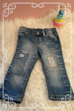 Super stoere jeans van de H&M - Maat 68