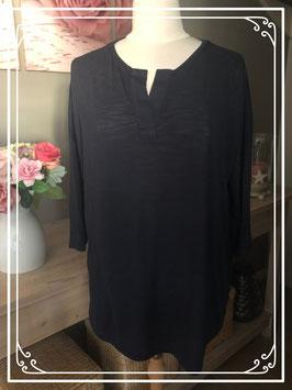 Zwart shirt met 3/4 mouw van Next Maternity - Maat 42