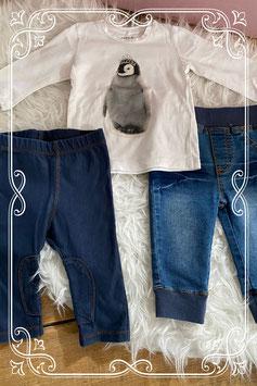 Leuk 3- dellig set van Name-It en H&M - maatje 62/68