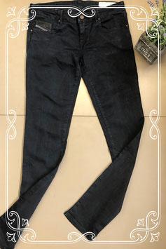 Donkerblauwe spijkerbroek van Diesel maat W30 L32
