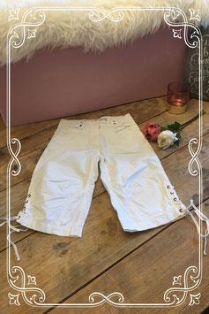 Heerlijke witte korte broek van Brams Paris-maat 134