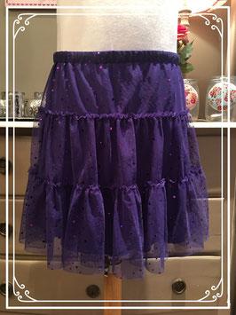 Nieuw: paarse glitterrok van Soho - maat 158