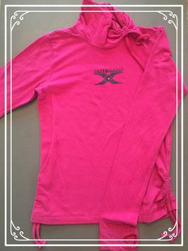 Fuchsia-gekleurd shirt van Outboard - maat 158-164