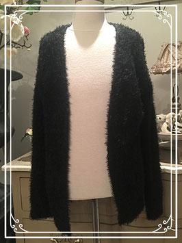 Nieuw: zwart vest zonder knopen - maat 158-164