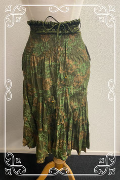 Nieuw! Mooie rok in groentinten van Bleuette maat M