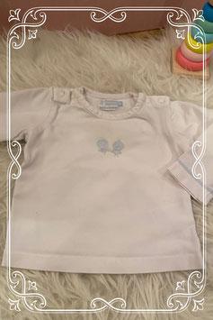 Schattig wit shirtje van Ducky Beau - maat 62