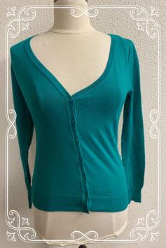 Nieuw! Mooi groen vest van Clockhouse in maat S