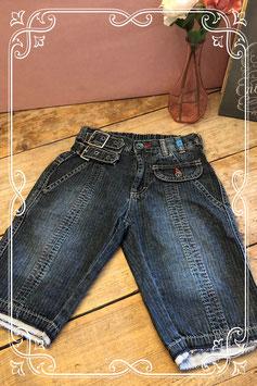 Jeans short van carbone-maat 140
