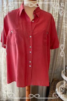 Zalmroze blouse van het merk Biaggini - maat 50