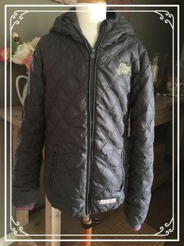 Winterjas in donker grijs van moodstreet - maat 152