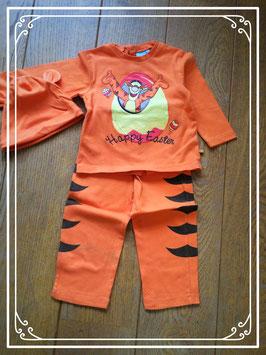 Driedelig Disney setje van tijgertje (van Winnie the pooh) - maat 92