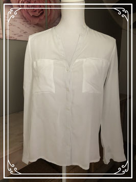 Witte blouse C&A clockhouse-maat S