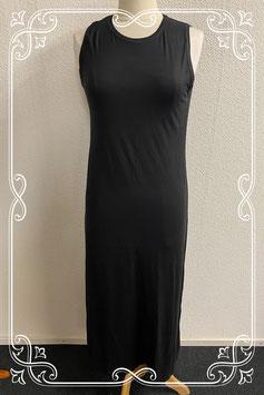 Nieuwe lange zwarte jurk van Mariposa maat XL